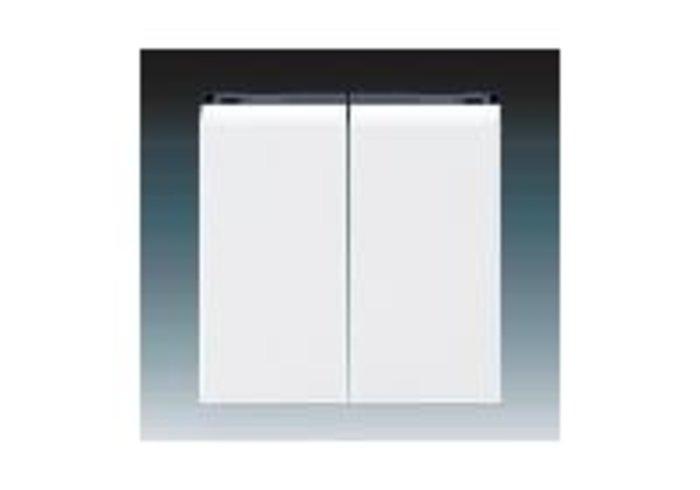 Kryt dělený LEVIT bílá/kouřová černá 3559H-A00652 62