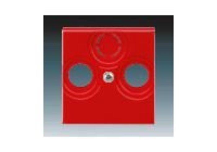 Kryt zásuvky TV+R(SAT) LEVIT červená 5011H-A00300 65