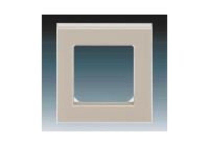 Rámeček jednonásobný LEVIT macchiato/bílá 3901H-A05010 18