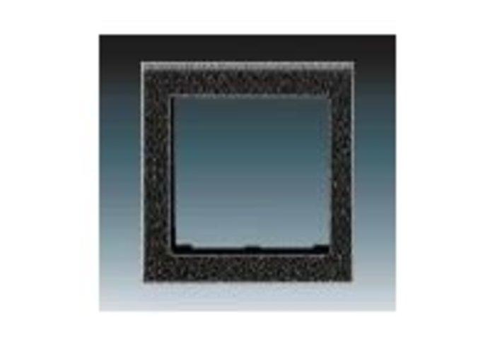 Kryt rámečku s otvorem 55x55, krajní LEVIT onyx 3901H-A00255 63