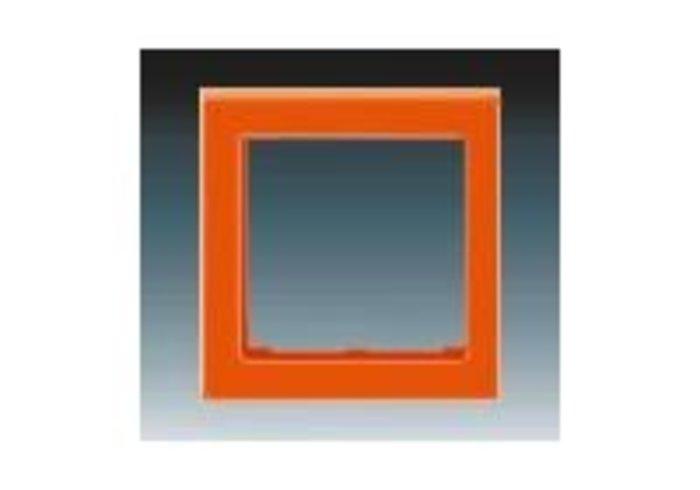 Kryt rámečku s otvorem 55x55, střední LEVIT oranžová 3901H-A00355 66
