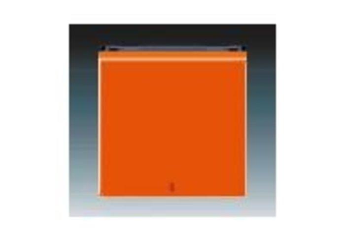 Kryt s červeným průzorem LEVIT oranžová/kouřová černá 3559H-A00655 66