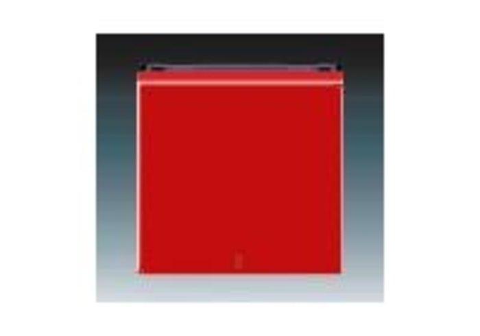 Kryt s červeným průzorem LEVIT červená/kouřová černá 3559H-A00655 65