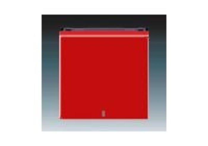 Kryt s čirým průzorem LEVIT červená/kouřová černá 3559H-A00653 65