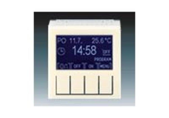 Hodiny spínací programovat LEVIT slonová kost/bílá 3292H-A20301 17