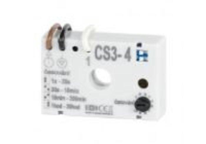 Časový spínač CS3-4 pod vypínač