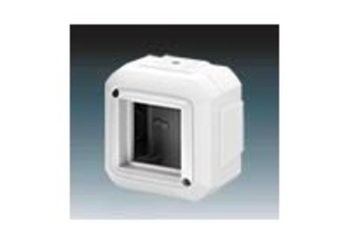 Variant+ Krabice nástěnná IP 20, pro přístroje 45x45, pro průběžnou montáž, bílá (3903N-C03540 B)