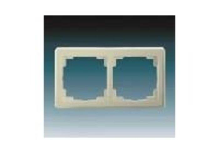 Swing®L Rámeček pro elektroinstalační přístroje, dvojnásobný, krémová (3901J-A00020 C1)