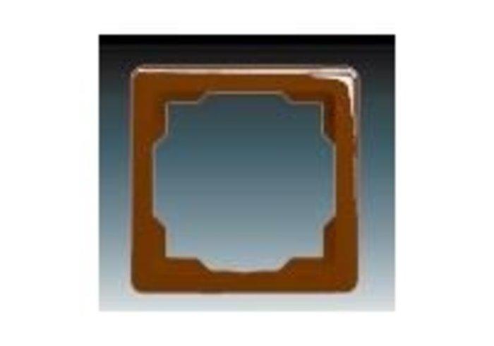 Swing® Rámeček pro elektroinstalační přístroje, jednonásobný, hnědá (3901G-A00010 H1)