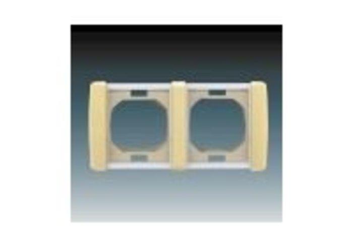Element® Rámeček pro elektroinstalační přístroje IP 44, dvojnásobný, slonová kost (3901E-A00942 C)