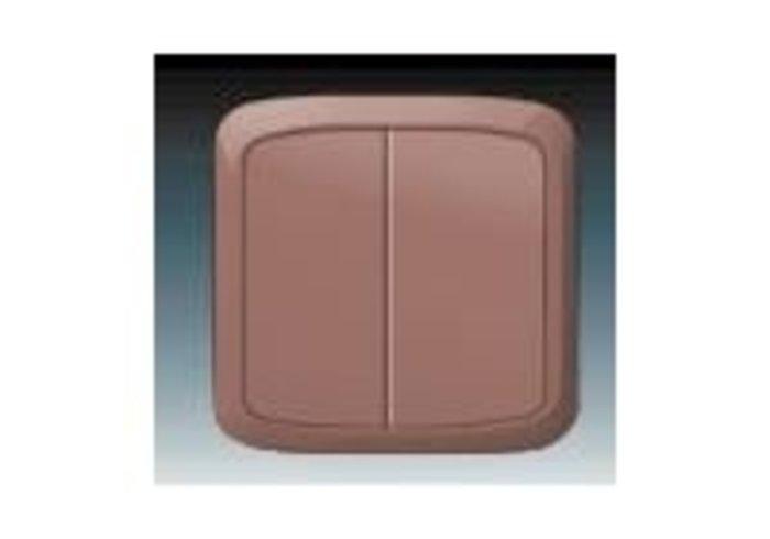 Tango® Přepínač sériový IP 44, zapuštěný, vřesová červená (3558A-05940 R2)