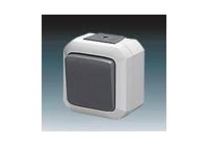Variant+ Přepínač střídavý IP 54, šedá (3558N-C06510 S)