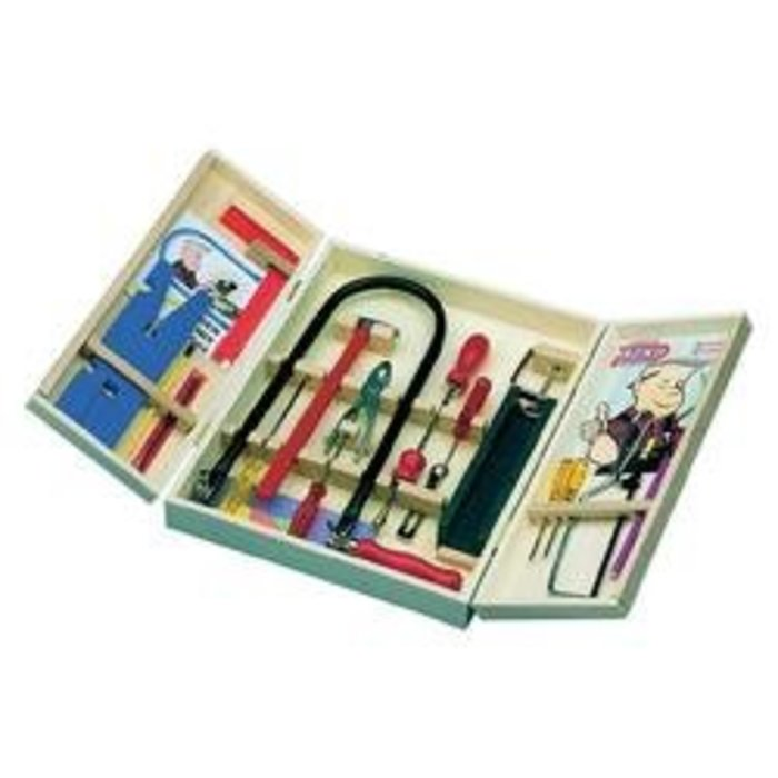 Lupénková pila v kufříku pro děti