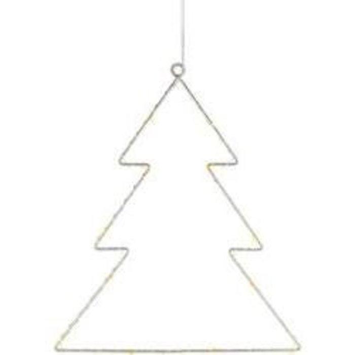 Vánoční LED osvětlení do okna Polarlite LBA-50-015, stromeček