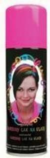 Anděl Smývatelný barevný růžový lak na vlasy 125 ml