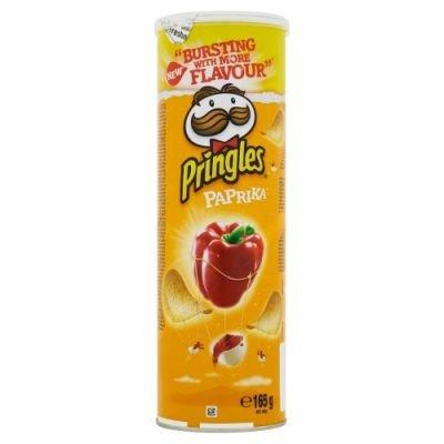 Pringles Křupavý pikantní snack s příchutí papriky 165g