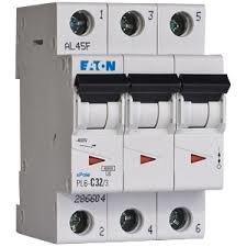 EATON Instalační jistič 6 kA, charakteristika B, 10 A, 3pól  PL6-B10/3