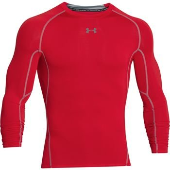Under Armour Hg Armour LS Red XL