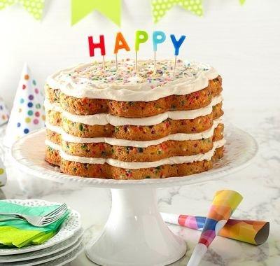 Forma na vrstvený dort Celebration, 2 ks