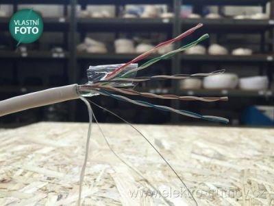 SYKFY 5x2x0.5 sdělovací kabel bílá izolace