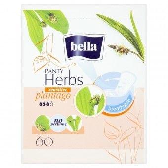 Bella Herbs Plantago Sensitive slipové vložky 60 ks