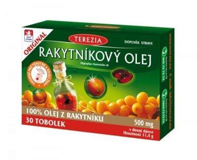 Terezia 100% Rakytníkový olej 30 tobolek