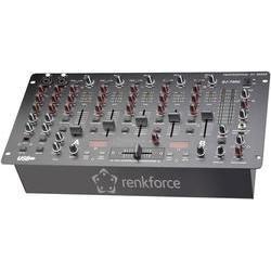 DJ mixážní pult Renkforce DJM700U, USB, 19