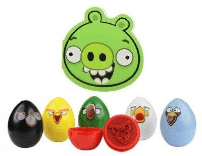 Angry Birds Razítka 6-pack Čuňasové