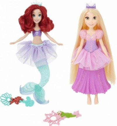 Disney Panenka s bublifukem Ariel nebo Locika