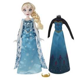 Disney Frozen panenka s náhradními šaty Anna nebo Elsa