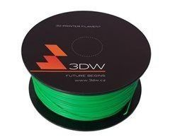 ABS 3DW ARMOR filament, průměr 1,75mm, 1Kg, Zelená