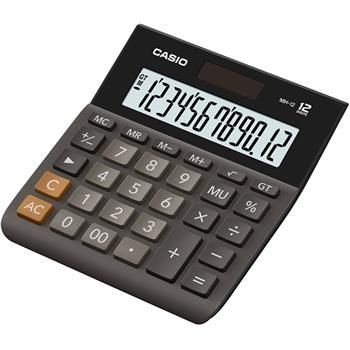 Casio kalkulačka MH 12 BK S EH