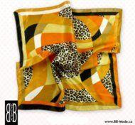 šátek na krk 50x50cm