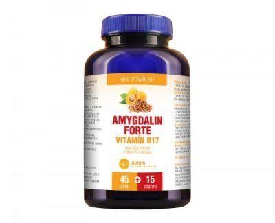 Aurum Amygdalin FORTE vit. B17 45 tbl. + 15 tbl. ZDARMA