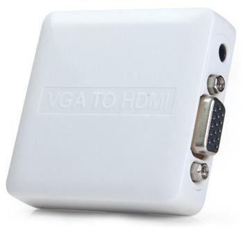 PremiumCord VGA+audio elektronický konvertor na rozhraní HDMI khcon-34