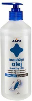 Alpa Základní masážní olej 500ml