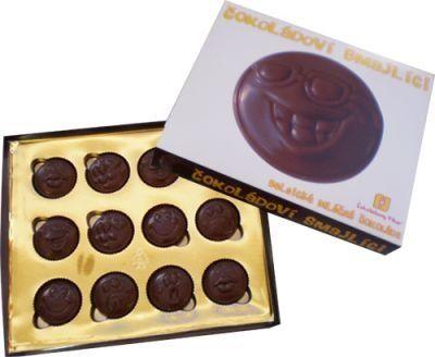 Čokoládoví smajlíci 70g