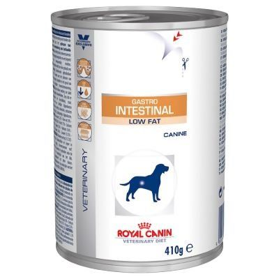 Royal Canin Gastro Intestinal Low Fat - Veterinary Diet - 12 x 410 g