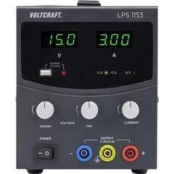 Laboratorní napájecí zdroj Voltcraft LPS1153, 0 - 15 V/DC, 3 A, 45 W