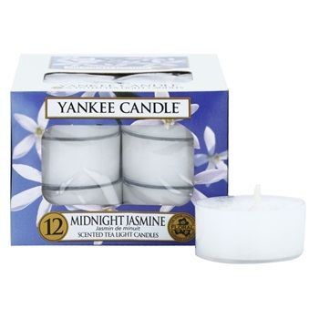 Yankee Candle Midnight Jasmine čajová svíčka 12 x 9,8 g