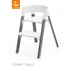 Stokke Steps židlička Storm Grey