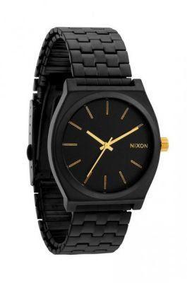Nixon - Hodinky Time Teller Matte Black/Gold