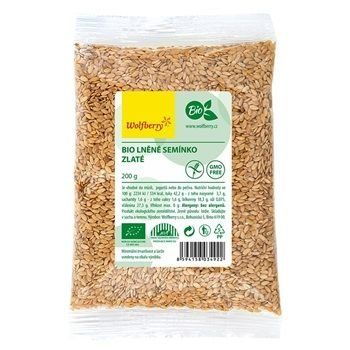 Wolfberry Bio lněné semínko zlaté (GMO Free) 200 g