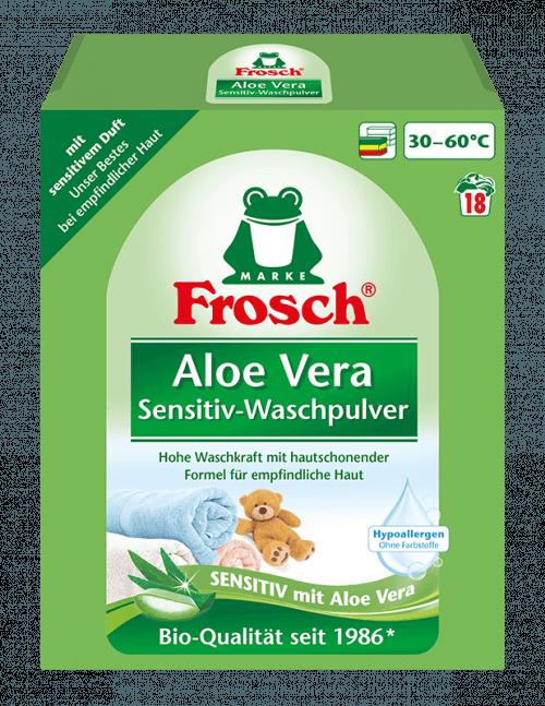 Frosch EKO Prací prášek Aloe vera 1,35kg
