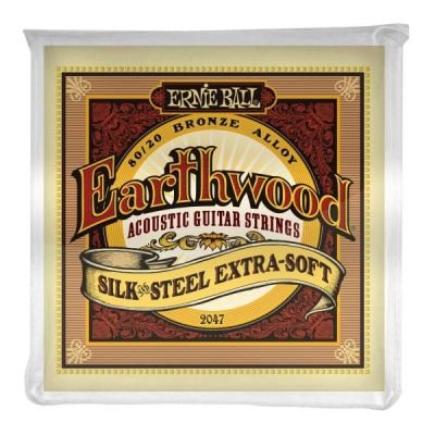 Ernie Ball 2047 Earthwood Silk & Steel Extra Soft Acoustic