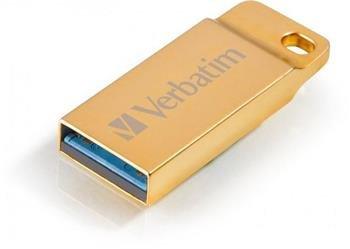 16GB USB Flash 3.0 METAL EXECUTIVE zlatý Verbatim P-blist