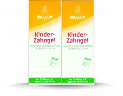 Weleda Dětský zubní gel - 2 x 50 ml
