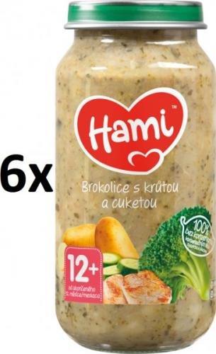Hami Brokolice s krůtou a cuketou - 6 x 250g