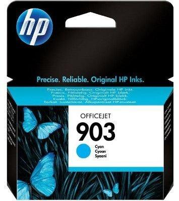 HP 903 azurová originální inkoustová kazeta (T6L87AE)