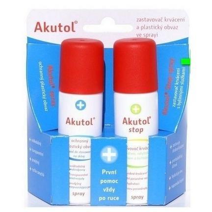 AKUTOL spray + Akutol STOP spray DUOPACK 2x60 ml